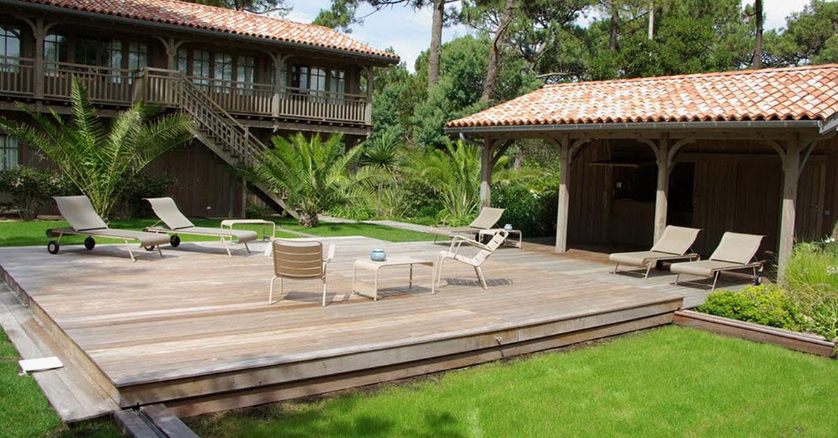 terrasse bois fermé
