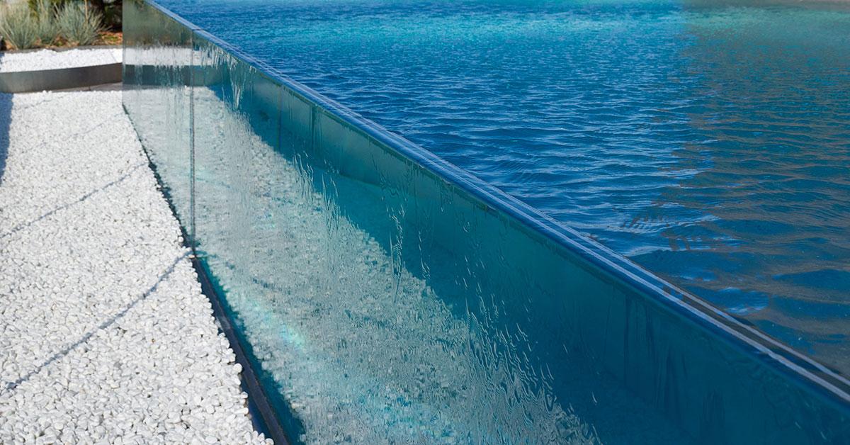 piscine verre rooftop