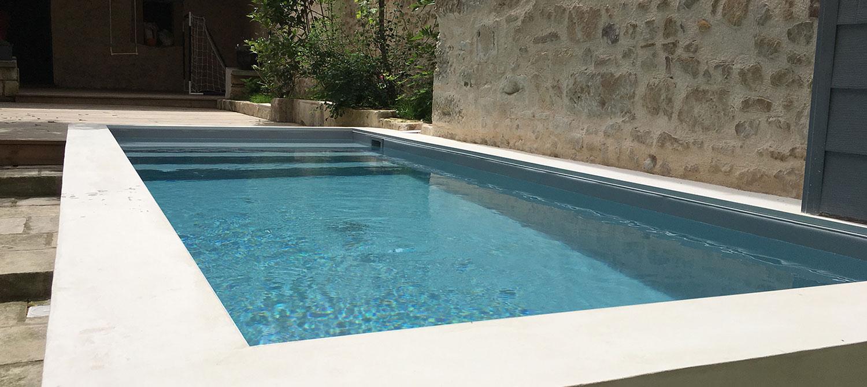 mini piscine en ville
