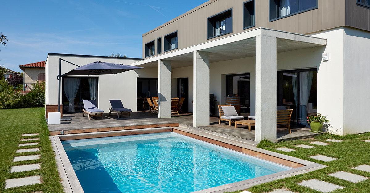 piscine fond terrasse mobile