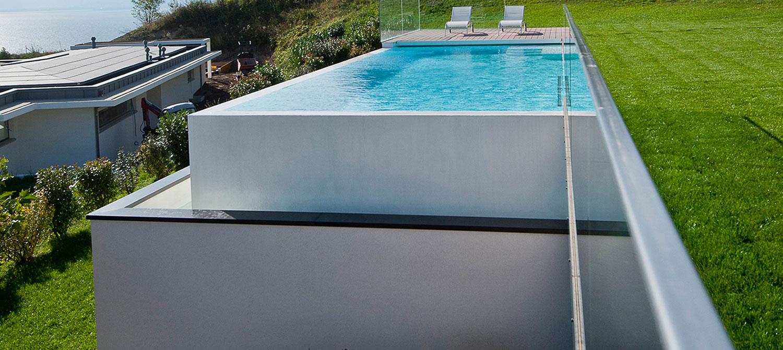 débordement de piscine