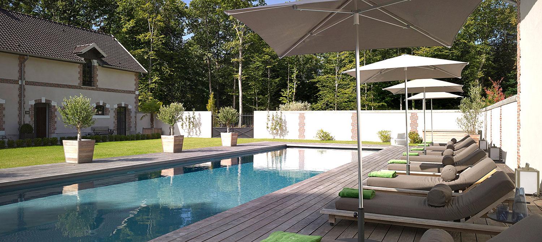 piscine collective Le château-de-la-Resle