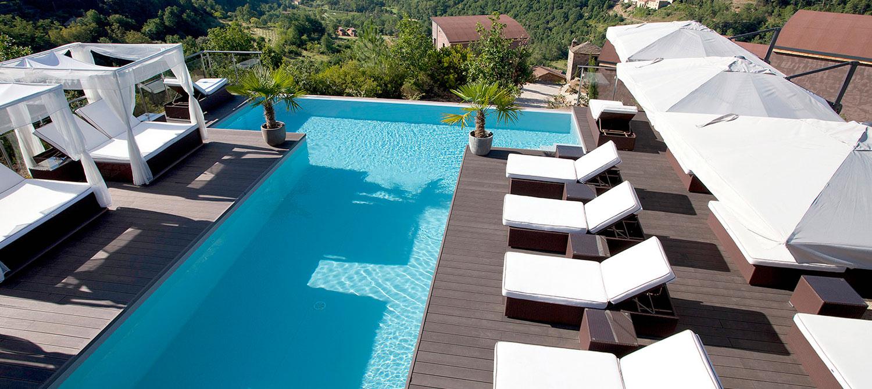 piscine d'hôtel