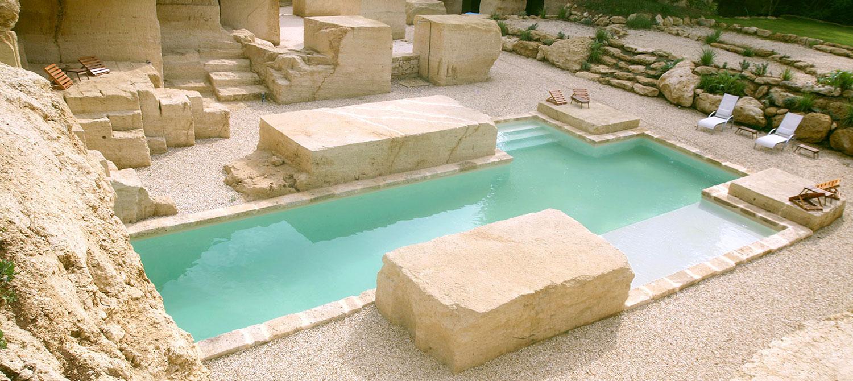 piscine en croix