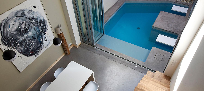 micro piscine en ville