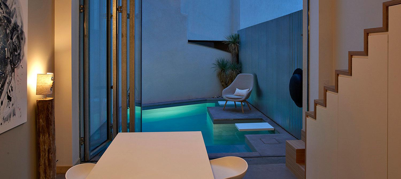 mici piscine en ville
