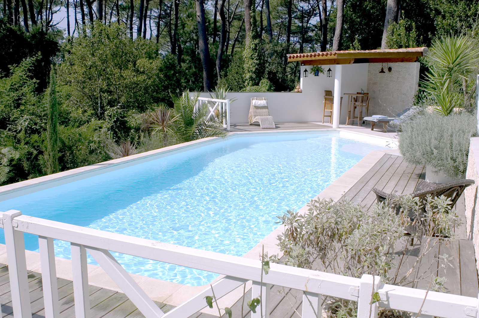 construction piscine le pian medoc