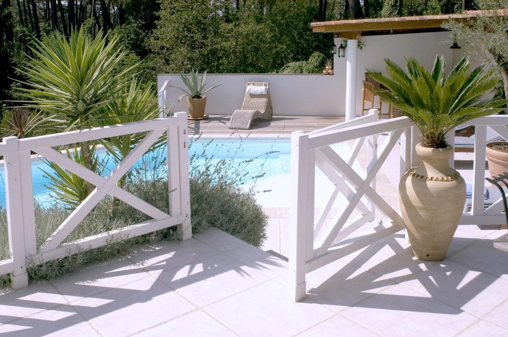 piscine jardin le pian medoc