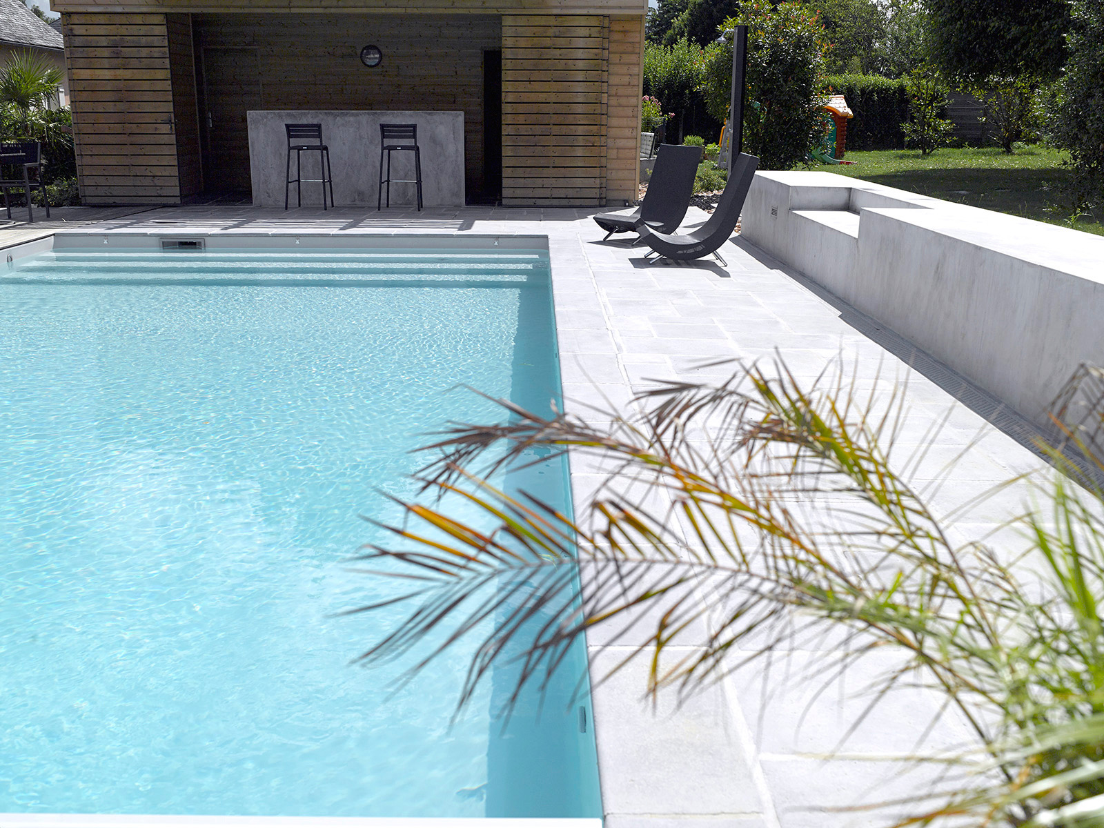 piscine liner gris brive