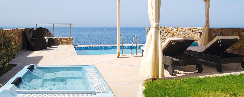 spa à débordement Ibiza
